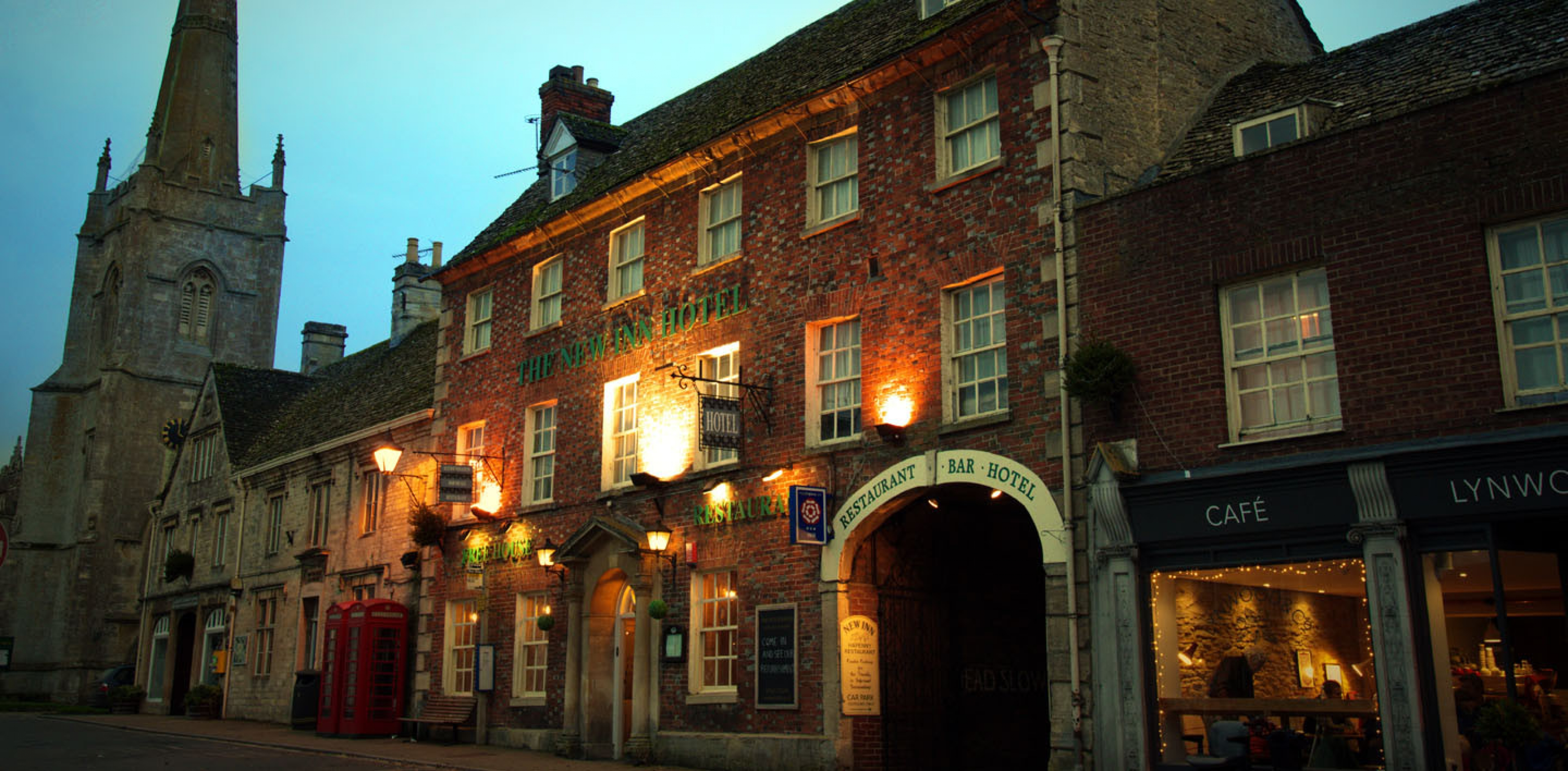 Welcome to The New Inn Hotel