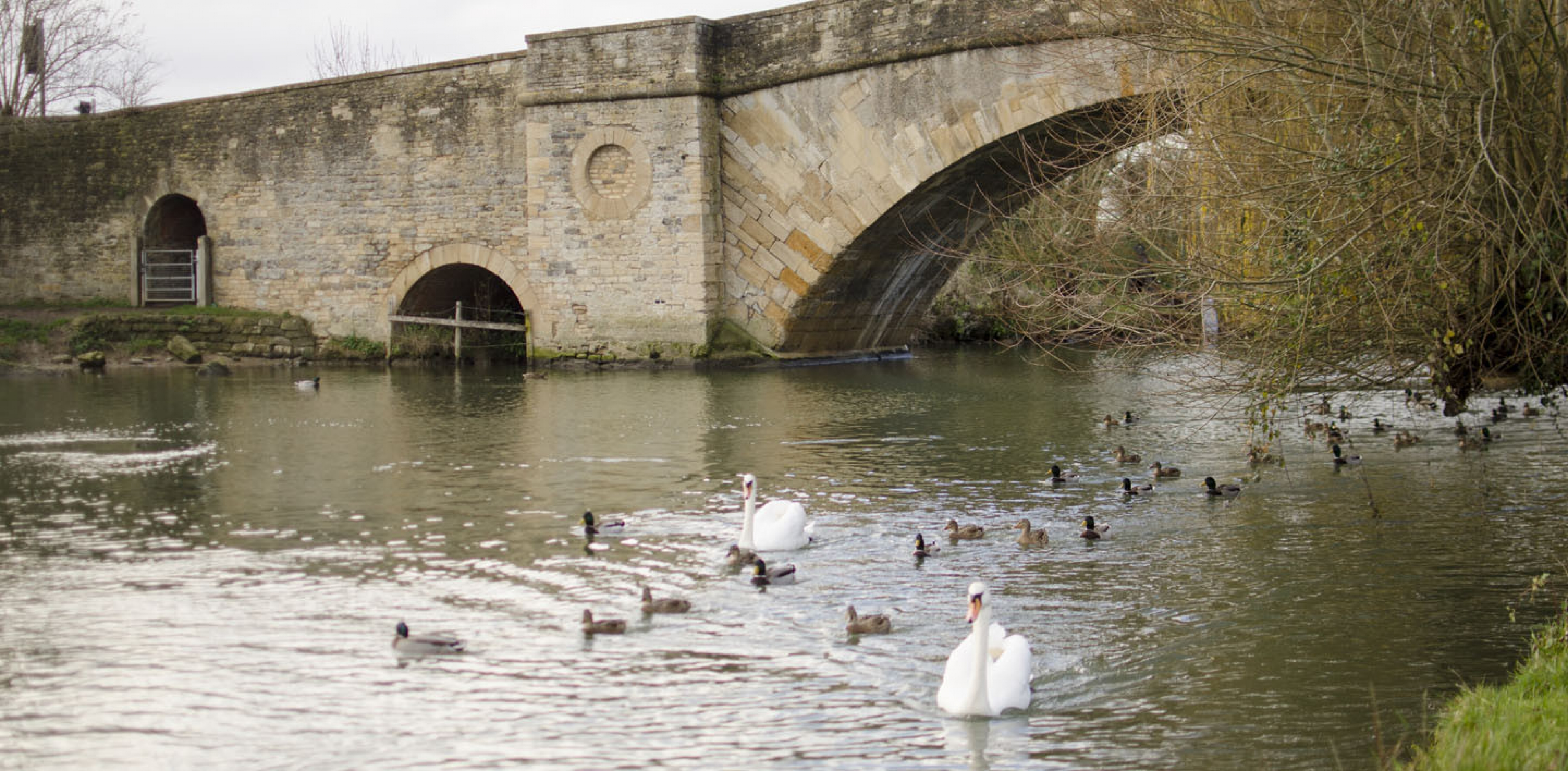 In the beautiful Cotswold town of Lechlade on Thames